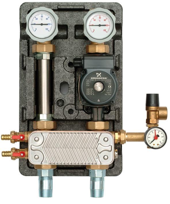 Группа теплого пола с теплообменником Пластины теплообменника Alfa Laval M10-REF Рязань